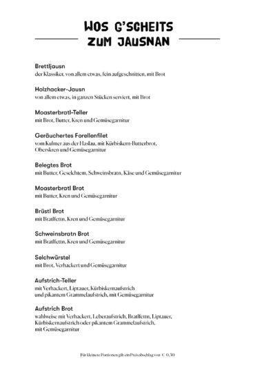 Speisekarte - Seite 3